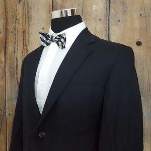 Jos A Bank Sport Coat Mens 42S Wool Navy Blue
